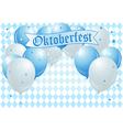 Oktoberfest Celebration Balloons vector image vector image
