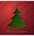 PrintMerry Christmas greeting card vector image vector image