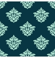 Retro light green seamless pattern vector image vector image