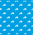 whistle pattern seamless blue vector image vector image