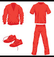 Clothes icon fashion set collection vector image
