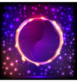 abstract background with a circle with light vector image vector image