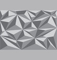 abstract grey triangle polygon pattern background vector image