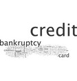 bankruptcy help things you can do after bankrupcy vector image vector image