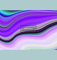 multicolored marbled texture vector image vector image