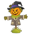 scarecrow topic image 1 vector image vector image