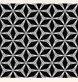 seamless pattern repeat geometric texture black vector image vector image