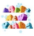 Slogan Happy New Year vector image vector image