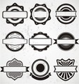 Vintage Badge Labels Template vector image vector image