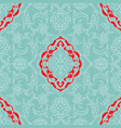turkish iznik tile design vector image