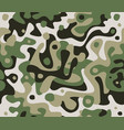 camouflage seamless pattern abstract modern vector image