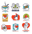 charity blood or donation or medical vector image vector image