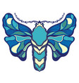 decorative design butterfly vector image vector image