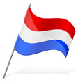 flag of Paraguay vector image vector image