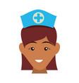 nurse avatar profile vector image vector image
