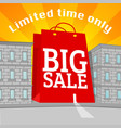 sale advertisement shopping discount social media vector image vector image