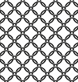 seamless pattern of chain fence vector image