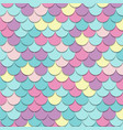 abstract pattern fish scale motif pastel color vector image