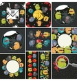 Big set of with cute monsters vector image