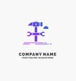 build engineering hammer repair service purple vector image