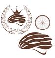Cycling Cycling Helmet vector image vector image