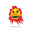 Dragon China Mask Cartoon vector image vector image