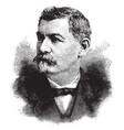 general george b mcclellan vintage vector image vector image