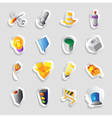 Icons for industry and technology vector image