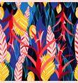 pattern plants vector image