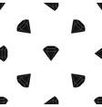 brilliant gemstone pattern seamless black vector image vector image