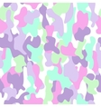 Camouflage seamless pattern in a green aquamarine vector image vector image