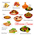 moroccan food traditional authentic cuisine dishes