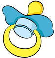 Pacifier vector image vector image