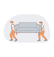 part-time job career manual work concept vector image vector image