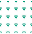 playpen icon pattern seamless white background vector image vector image