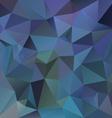 dark blue polygon triangular pattern background vector image vector image