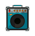 guitar amplifier technology vector image vector image