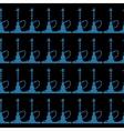 hookah seamless pattern- vector image
