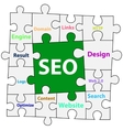 Puzzle background SEO