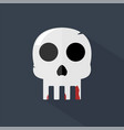skull icon set of great flat icons design vector image