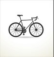 sport bicycle vector image vector image