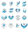 teeth care vector image