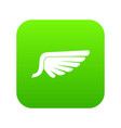Wing icon digital green