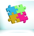 Abstract Puzzle EPS8 vector image