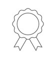 achievement badge icon on white vector image