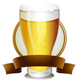 Beer Lable vector image vector image