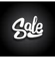 Black Friday Sale Typography Banner Design vector image vector image
