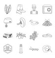 cooking medicine education and other web icon in vector image vector image