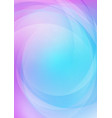 curved abstract with colorful background vector image vector image