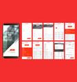 design of the mobile application ui ux a set